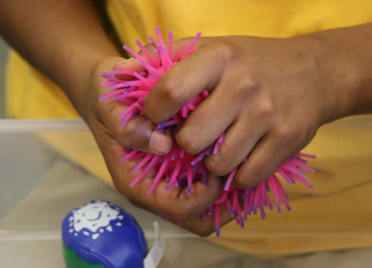 Sensory Space Highlighted at Back to School Night