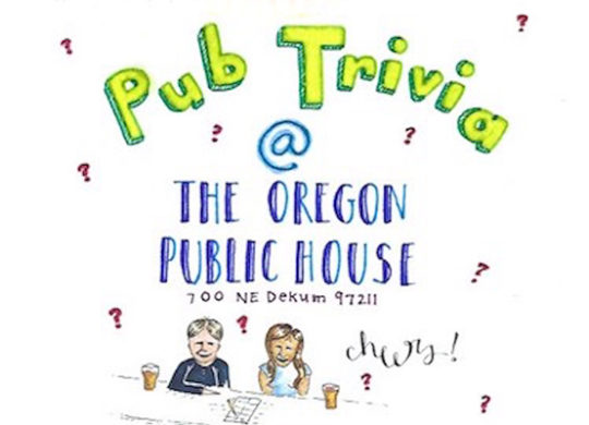 Join us for Pub Trivia