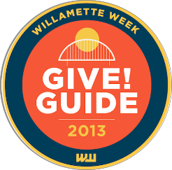 Thanks to your support we exceeded our fundraising goal in the Willamette Week Give!Guide this year!