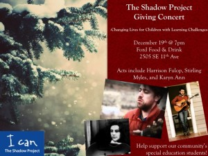 Shadow Project Giving Concert