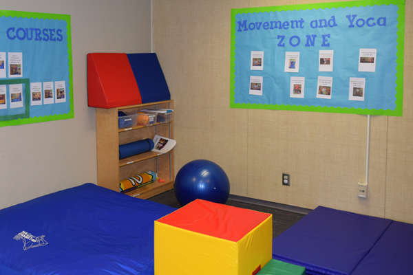 Clarendon Pilots Head Start Sensory Space