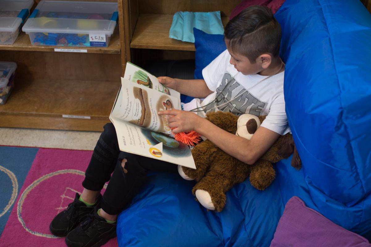 Classroom Behavior Improves with Sensory Spaces